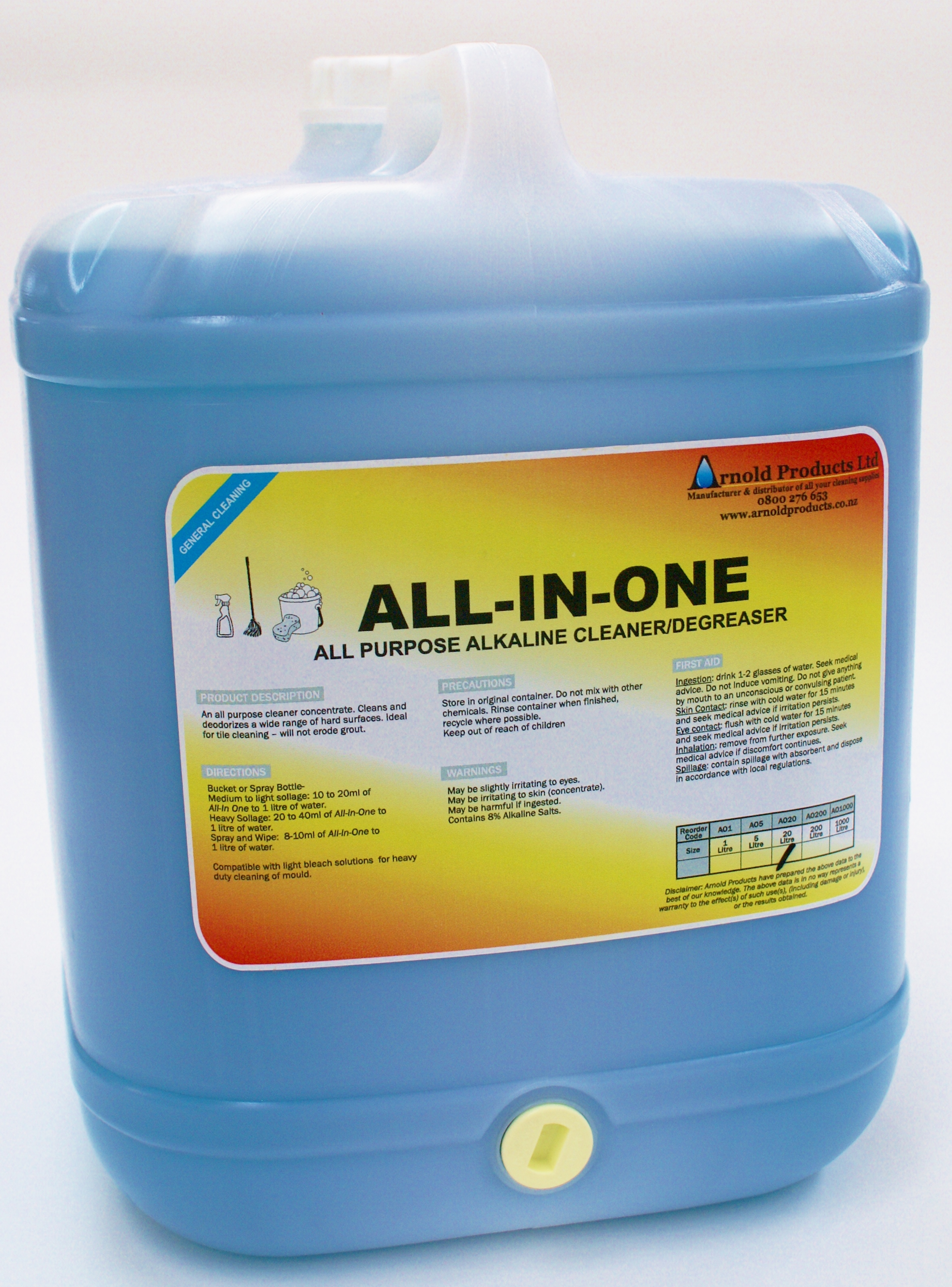 20l All In One All Purpose Cleaner Arnold Products Limited