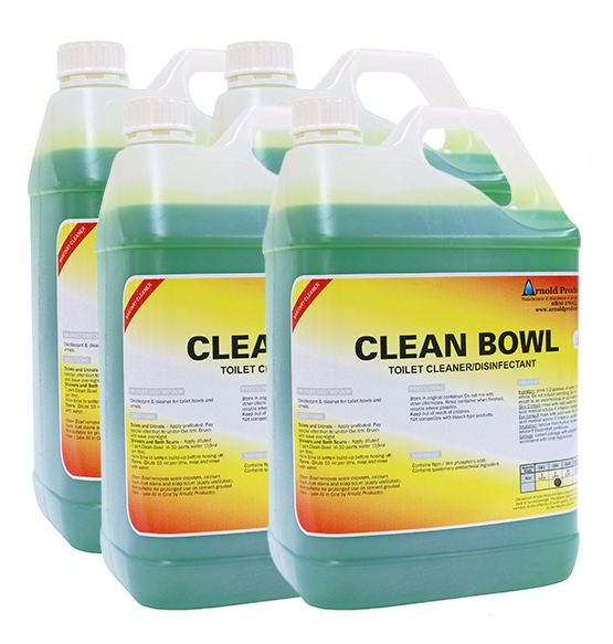 4 X 5l Clean Bowl Toilet Cleaner Amp Disinfectant Arnold