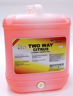20L TWO WAY CLEANER & DISINFECTANT - CITRUS