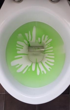Clip On Toilet Bowl Cleaner